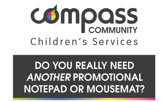 Compass Community pop up design