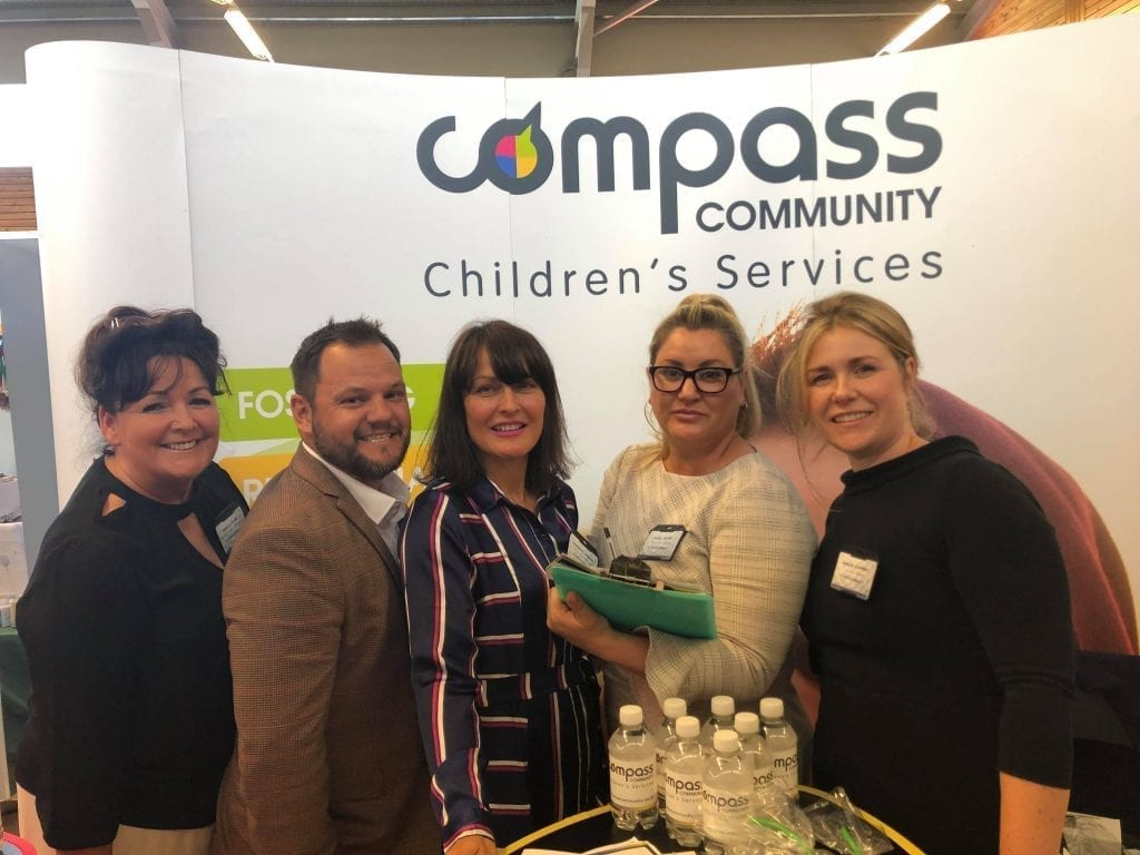Senior team at the comissioners conference