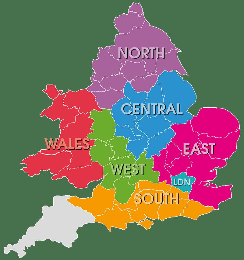 Compass Fostering Regions